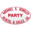 logo for Michael S. Hensley Party Rental & Sales Co.