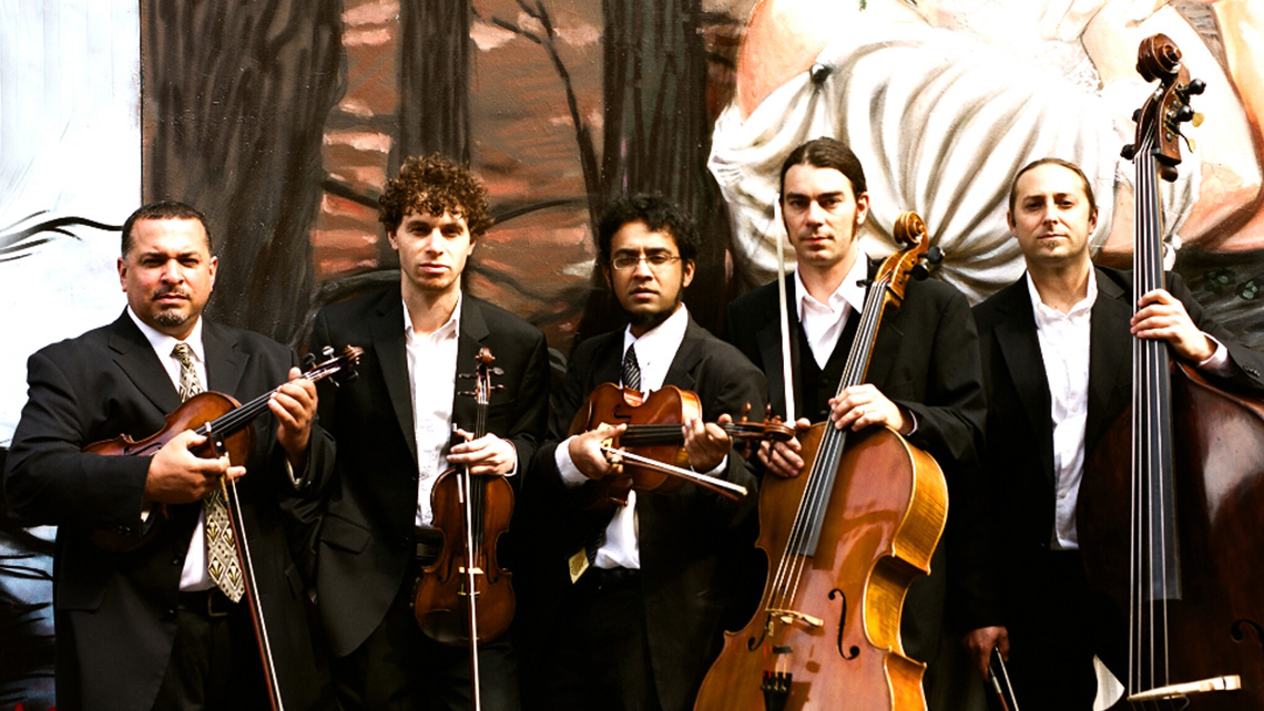 Photo of the Musical Art Quintet
