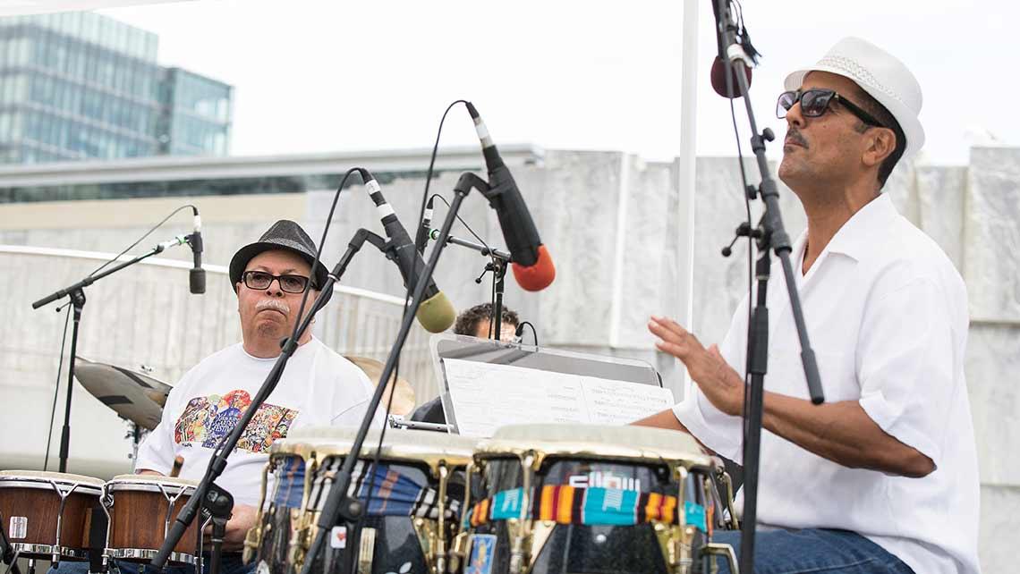 Photo of Orestes Vilato and John Santos