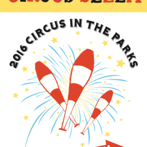 Poster for Circus Bella's 2016 production Out of Line
