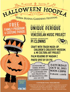 Halloween Hoopla 2015 flyer