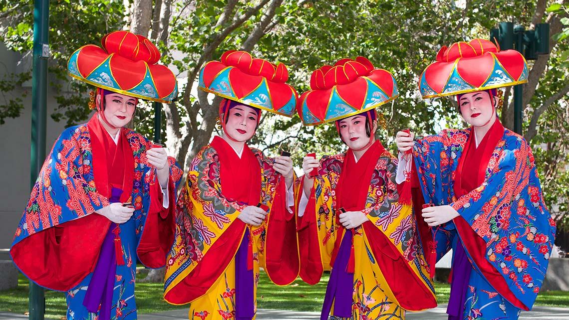 Okinawan Folk Ensemble Yerba Buena Gardens Festival