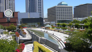 Photo of the Terrace at Yerba Buena Gardens, San Francisco