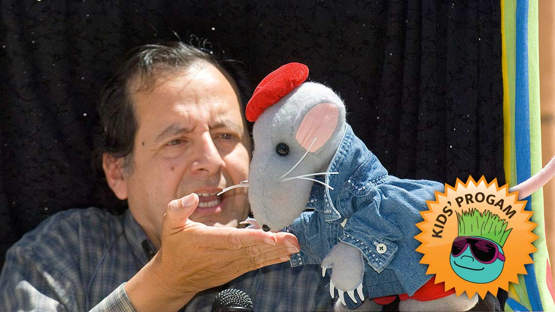Photo of Joe Leon and the Caterpillar Puppets