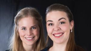 Photo of mezzosoprano Karin Osbeck and pianist Matilda Lindholm