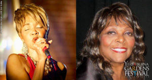Photo of singer Nina Causey by Eric Muetterties Photography and photo of singer Denise Perrier