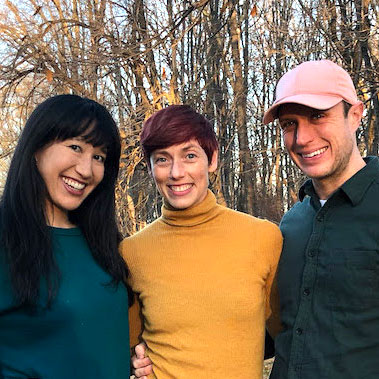 Photo of Katerina Wong, Wendy Rein and Ryan T. Smith